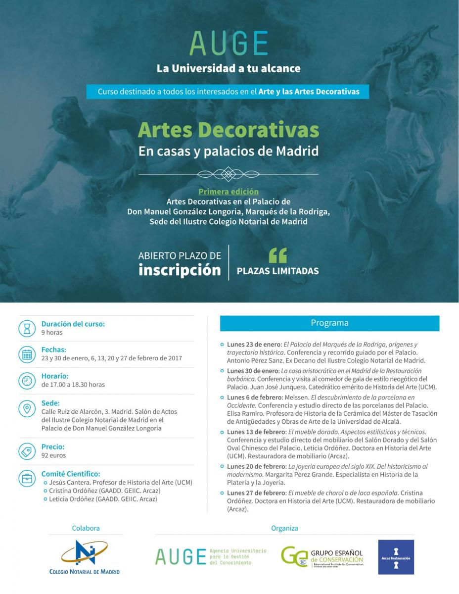 Curso Ucm Artes Decorativas