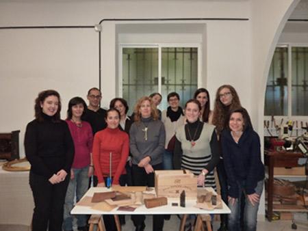 Finaliz el seminario de 4 s bados en arcaz restauraci n - Muebles jose maria ...