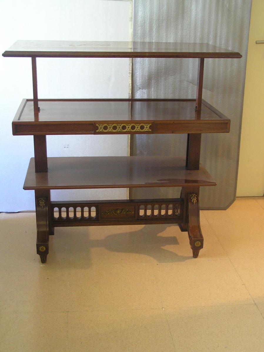Dos Muebles Restaurados Para Una Exposici N Sobre Larra  # Muebles Restaurados