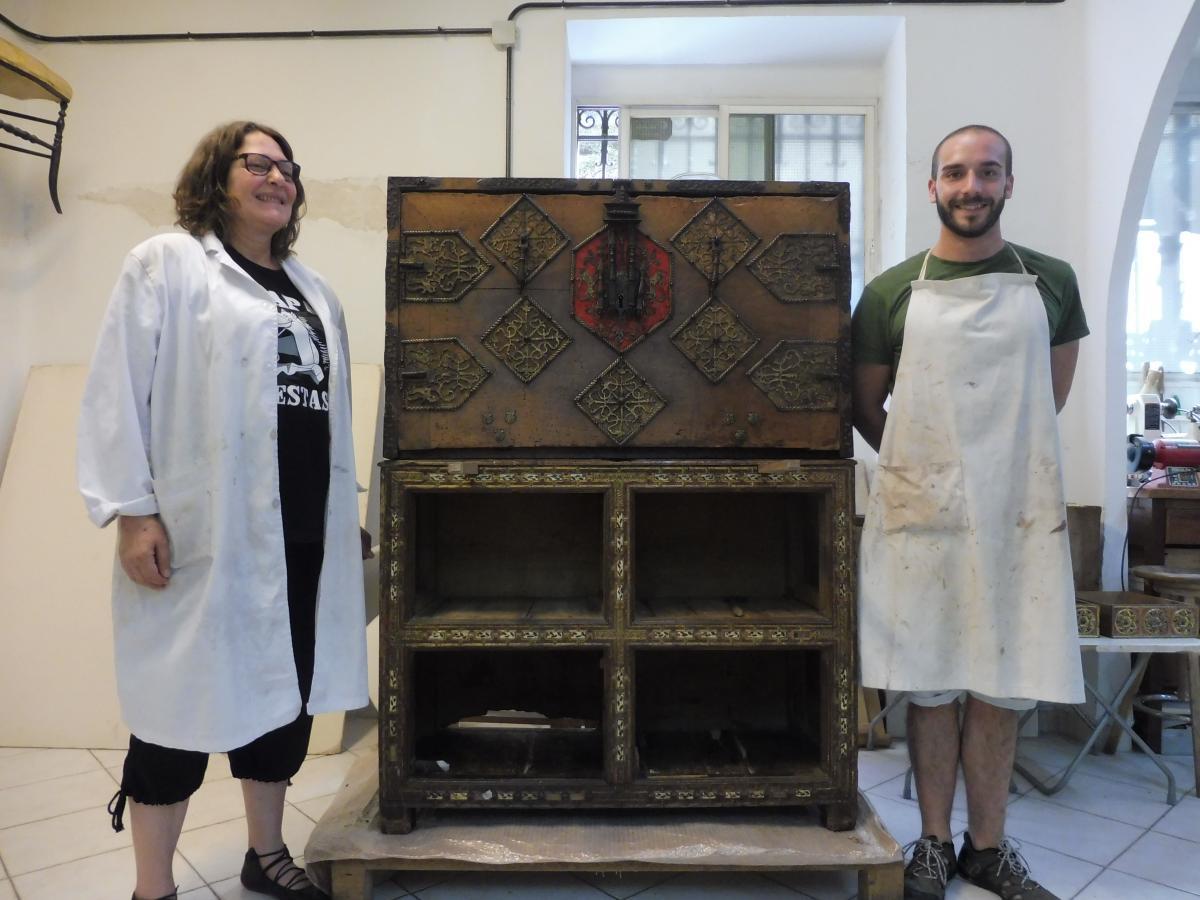 Noticias restauraci n de muebles arcaz for Cursos de restauracion de muebles en madrid